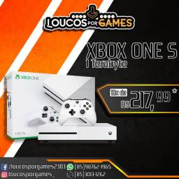 Xbox One S 1Tb - Novo