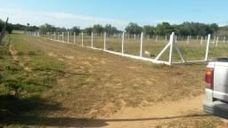 Velleda oferece terreno plano de esquina a 2,5 km do asfalto