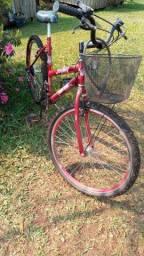 Bicicleta seminova aro 26