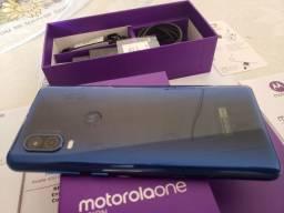 Moto One Vision 128Gb, novinho c/ nota fiscal, aceito cartão, LEIA