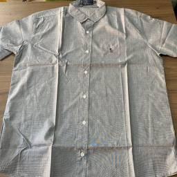 Camisas social manga curta