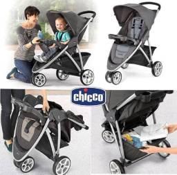 Carrinho de bebê Viaro Graphite - Chicco