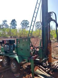 Perfuratriz Hidráulica para operação com água/lama e ar comprimido