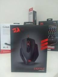 Mouse Gamer Redragon Tiger 2 na caixa