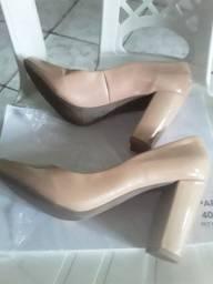 Vendo Sapato Marisa bege novo nº 37