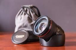 Canon Ef 24-105mm F/4 L Is Usm em perfeito estado e revisada