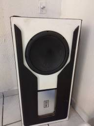 Caixa pronta com Sub 12 Polegadas audiophoni  e Módulo dtx 750
