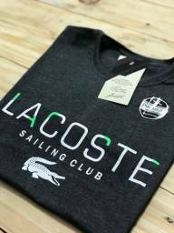 Camiseta Lacoste e Nike nova Tamanho M