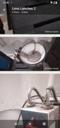 Fritadeira elétrica em bom estado