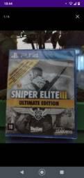 Jogo pra Ps4 Sniper Elite 3 (Lacrado) 80,00 (Menor Preço)