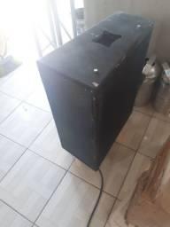 Par de caixas line e amplificador Op 3500 oneal