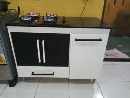 Fogão cookto com armário