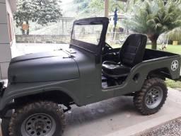 Jeep wyllis emplacado