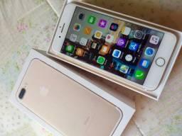 IPhone Gold 7 Plus - Impecável
