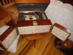 Raríssima !!! Vitrola americana 1960 funcionando !!!