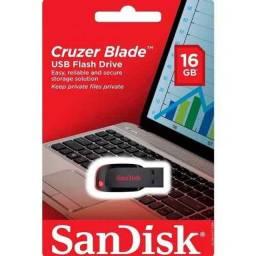 Pen Drive Sandisk Cruze Blade 16gb (original Lacrado)