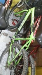 Vendo bicicleta verde
