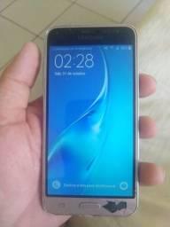 Samsung J3 trincado mais funcionando perfeitamente