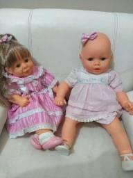 Duas bonecas lindas, sendo uma o Meu Bebê da Estrela