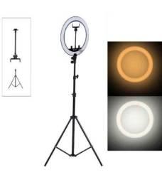 Ring Light 26 Cm Tripé 1.80 Metros Suporte de Celular