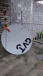 Antena para satelite