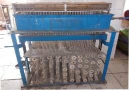 Máquina industrial de fazer velas palito até 396 velas por forma.