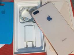 Iphone 8 Plus Gold 64 gigas completo