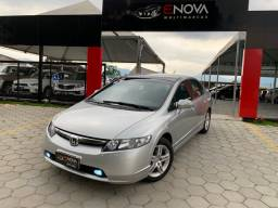 Civic EXS 1.8 top automático + câmbio borboleta 2007