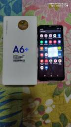 Samsung Galaxy A6 Plus prata 64GB