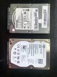 1 HD de notebook de 1 tb e 1 HD de notebook  de 500
