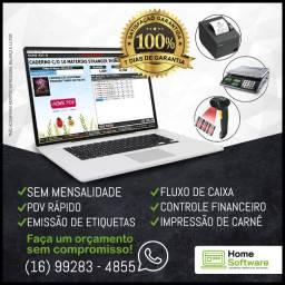 Gestor de Vendas - PDV, Estoque, Financeiro, Carnê, Etiquetas, S/Mensalidade - Ap. Goiania