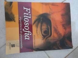 Livro de Filosofia A experiencia do pensamento