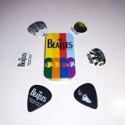 Kit de palhetas dos Beatles