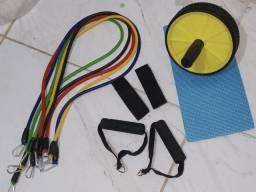 Kit extensor + roda abdominal