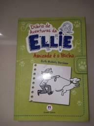 Livro Diário de aventuras da Ellie- Amizade é o bicho