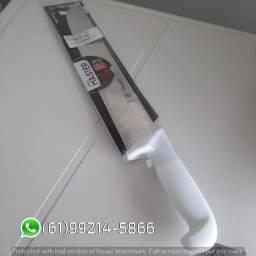 Faca 45 cm Inox Original Master Prof 12 cabo Branco Compra Facil