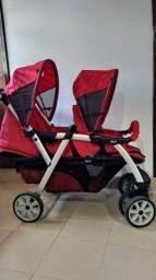 Vende-se carrinho de bebê para gêmeos Chicco