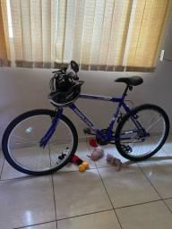 Bicicleta Houston nova 21 marchas aro 26