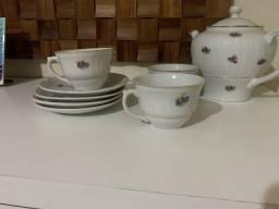 Porcelana Portuguesa - Jogo de Chá