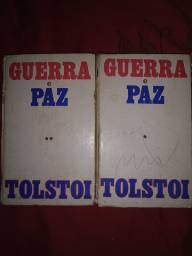 Livro Guerra e Paz_Tomo I e II