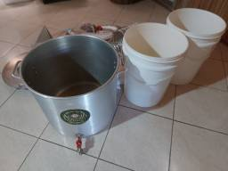 Título do anúncio: Kit para fazer cerveja, 40 litros.