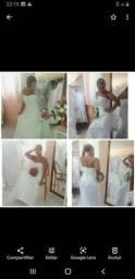Aluguel de vestido de noiva qualquer modelo por apenas 500 reais.