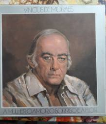 Disco de Vinil (LP) - A mulher, o amor, o sorriso e a flor - Vinicius de Moraes