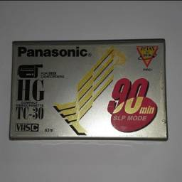 VHS-C Compacto Fita Hg TC-30 Panasonic LACRADO