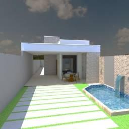 Linda casa nova com 3/4 na quadra 407 sul, Palmas-To