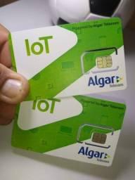 Chip m2m Algar pega todas Operadoras