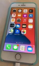 Iphone 8 64Gb Silver, desbloqueado, impecável e em perfeitas condições, igual a novo