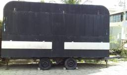 Vendo ou troco trailer seminovo