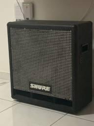 A caixa é passiva o fone é de 250 então não é amplificada.