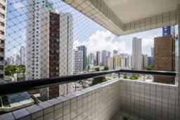 Apartamento com 3 quartos para alugar, 75 m² por R$ 2.400/mês com taxas- Boa Viagem - Reci